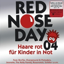 Red Nose Day 04 - Haare rot für Kinder in Not
